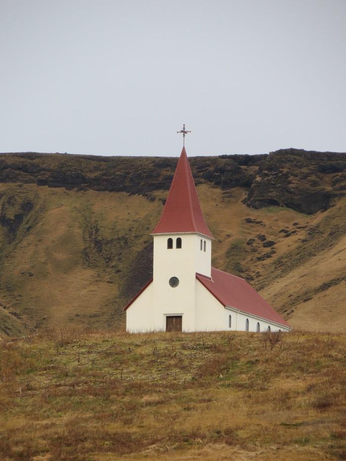 Church above Vík