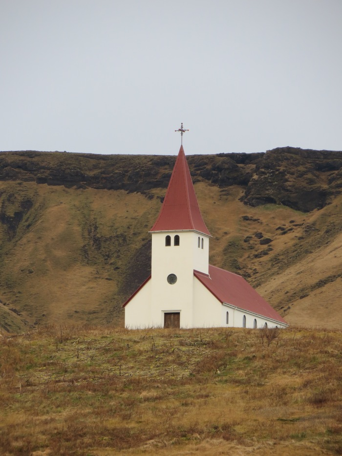 Church above Vík