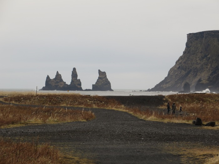 The beach at Vík.