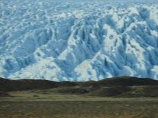 Fjallsjökull (taken from a moving car)