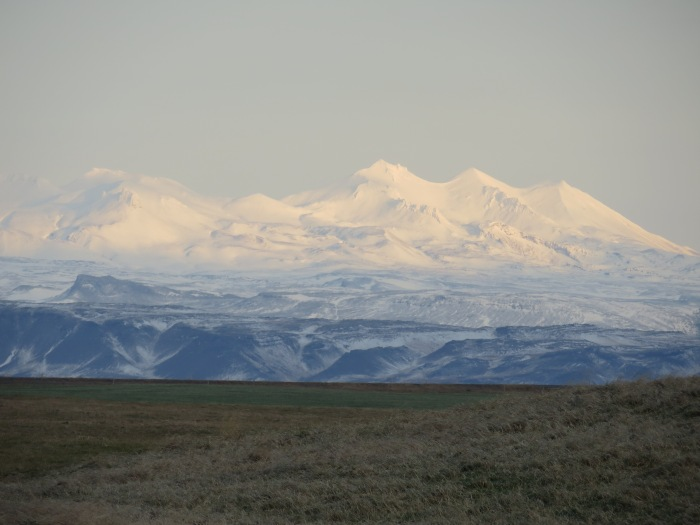 Snæfellsnes mountains viewed from near Ytri-Tunga.