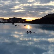 Outside the Blue Lagoon
