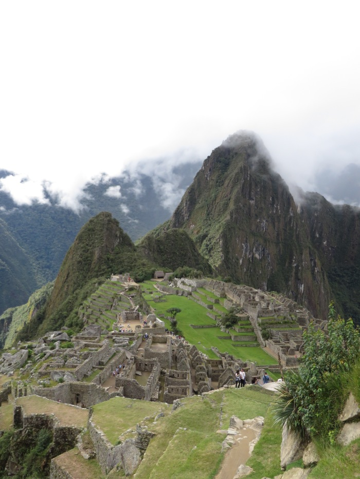 Machu Picchu. After the clouds had gone; after the crowds had gone. Magnificent.