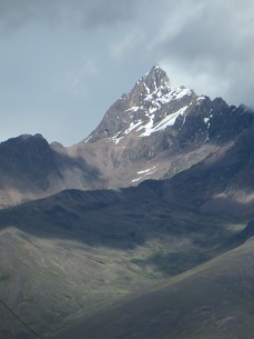 View from the car as we drove from Cuzco to Puno