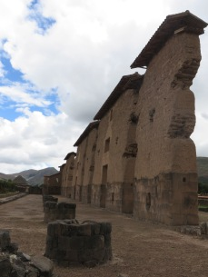 Remains of the Inca Temple of Viracocha