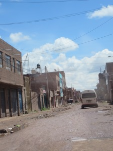 One of Juliaca's inviting streets