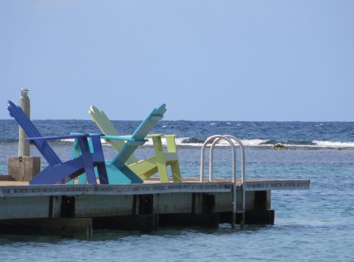 Pier at Coyaba Beach Resort, Montego Bay