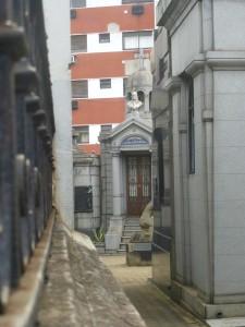 A city within a city. Cementerio de la Recoleta, Buenos Aires