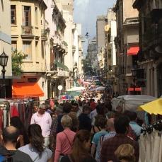 Defensa street market, San Telmo
