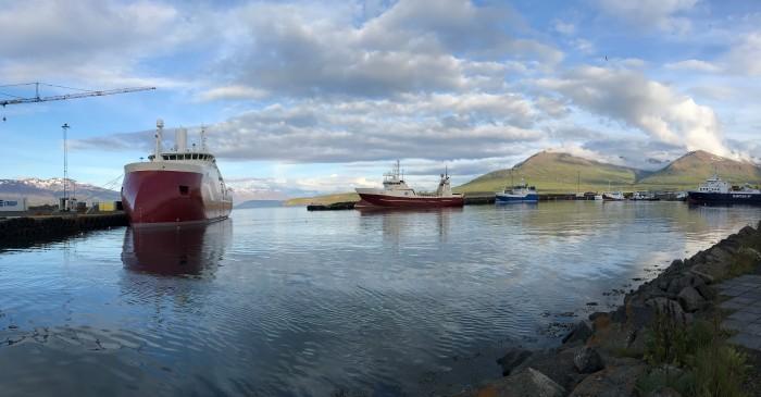 Dalvík Harbor
