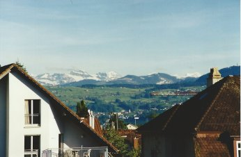 The view from your first home (Männedorf, Switzerland)