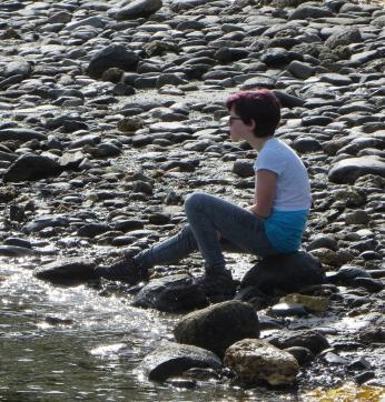 Contemplation. Tierra del Fuego, Argentina