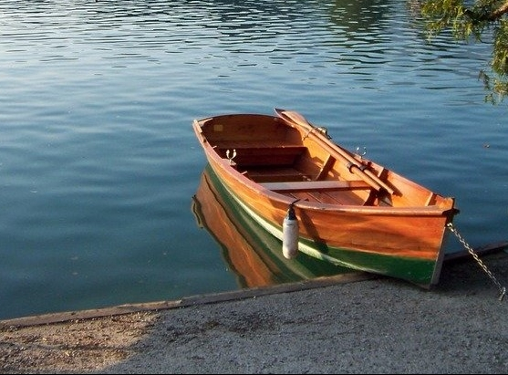 Rowing Boat, Lake Bled, Slovenia