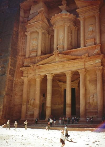 Al-Khazneh (Treasury). Petra, Jordan