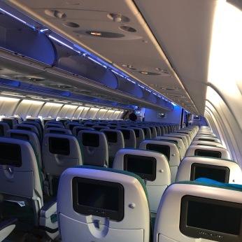Chicago - Dublin Flight: Boarding Complete