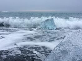 Iceberg at Jökulsárlón (Nov 2016)