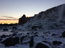 Þingvellir Ice (Nov 2016)